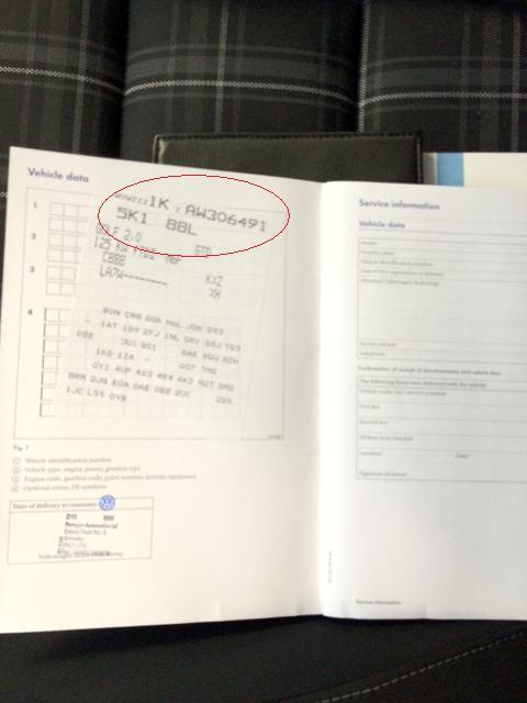on Vw Beetle Engine Identification Numbers
